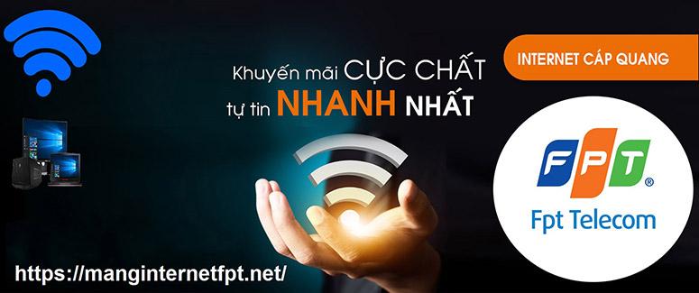 Lắp mạng cáp quang FPT Thanh Hóa miễn phí - Tặng Modem Wifi FPT 100%