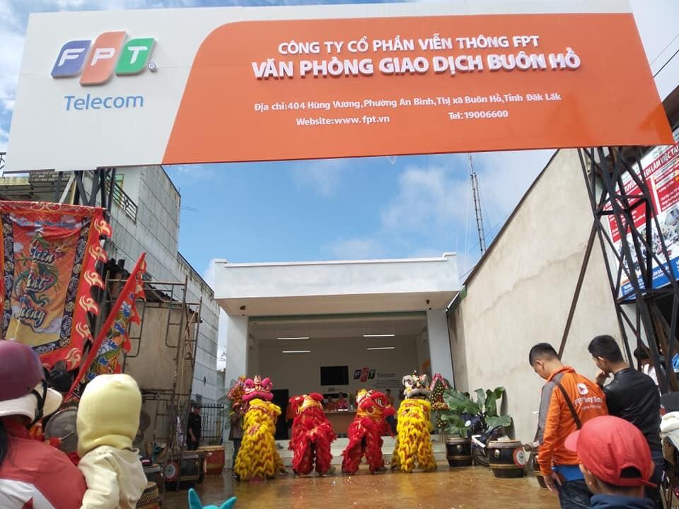 Văn Phòng Giao Dịch FPT Thị Xã Buôn Hồ - FPT Telecom Dak Lak