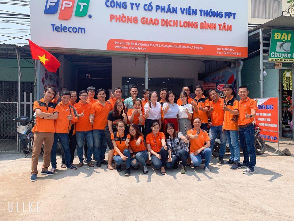 Văn Phòng giao dịch FPT Telecom Long Bình Tân - FPT Biên Hòa